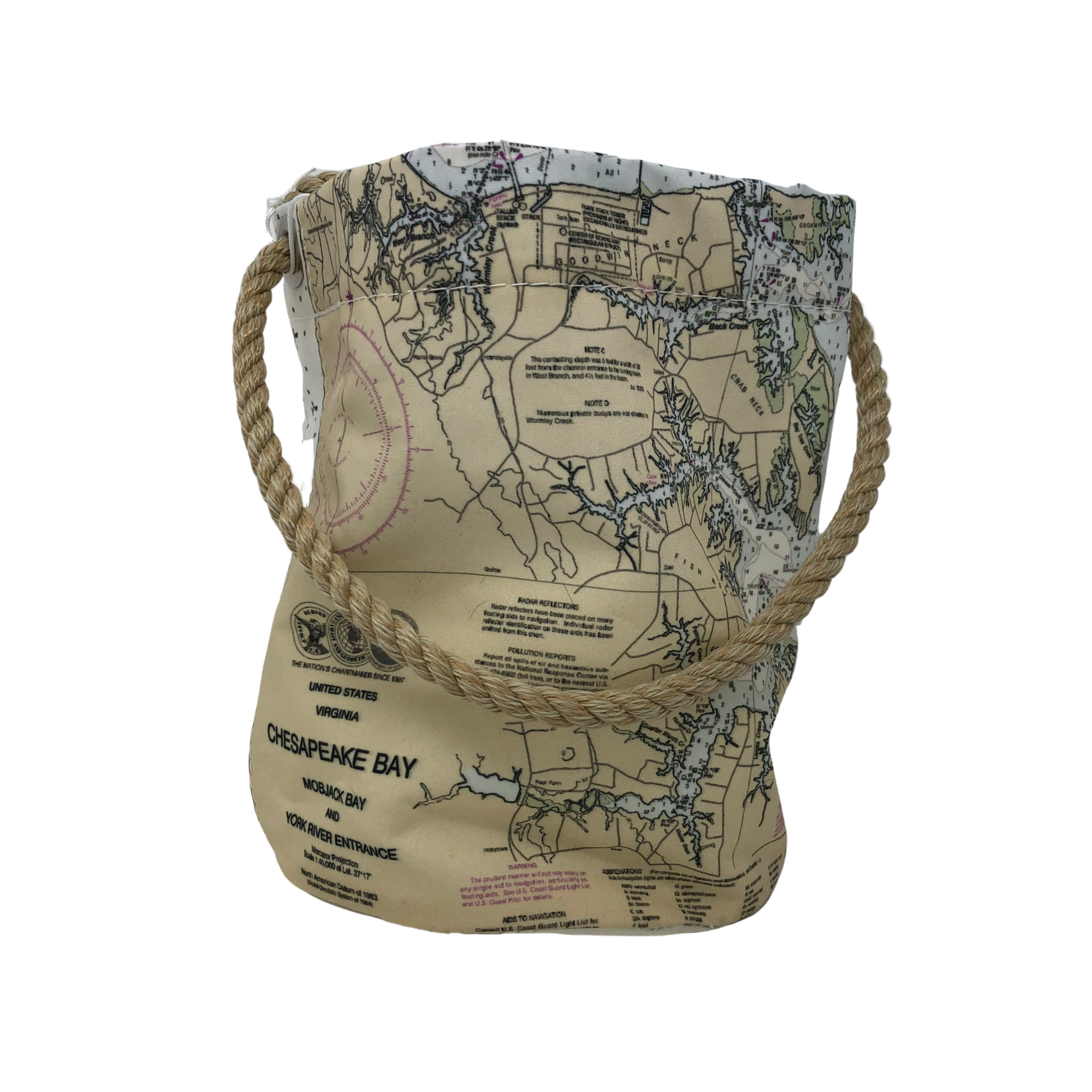 Sea Bags Bucket Bag - Chesapeake Bay