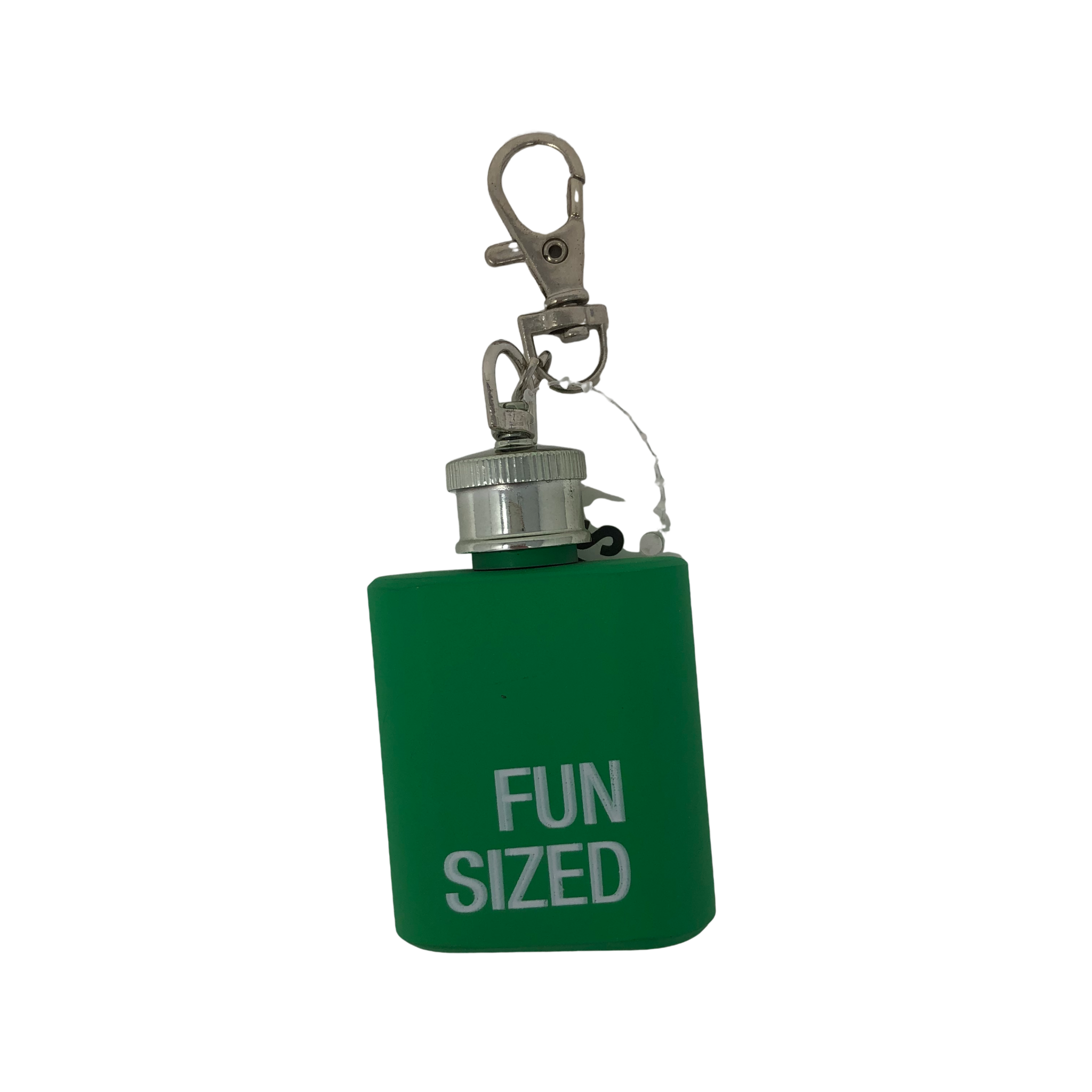 About Face Designs Fun Sized Key Ring Flask