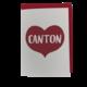 Big Heart Notecard - Canton