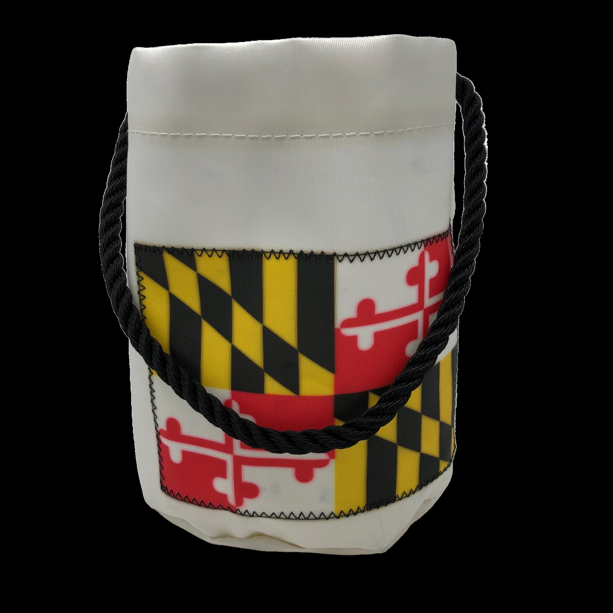Sea Bags Bucket Bag - Maryland Flag