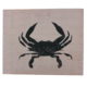 The Painted Mermaid Crab Sign - Blush