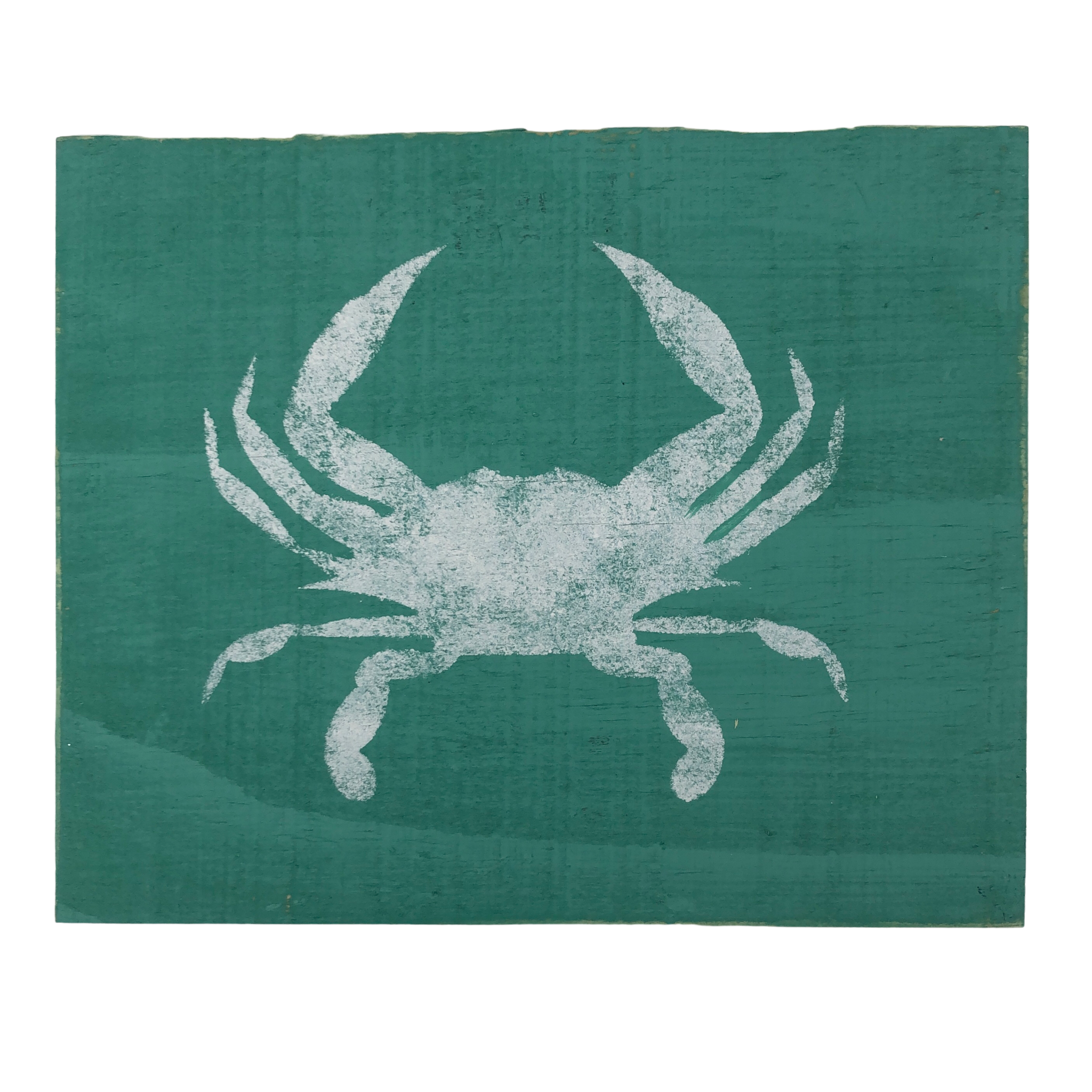 The Painted Mermaid Crab Sign - Mint