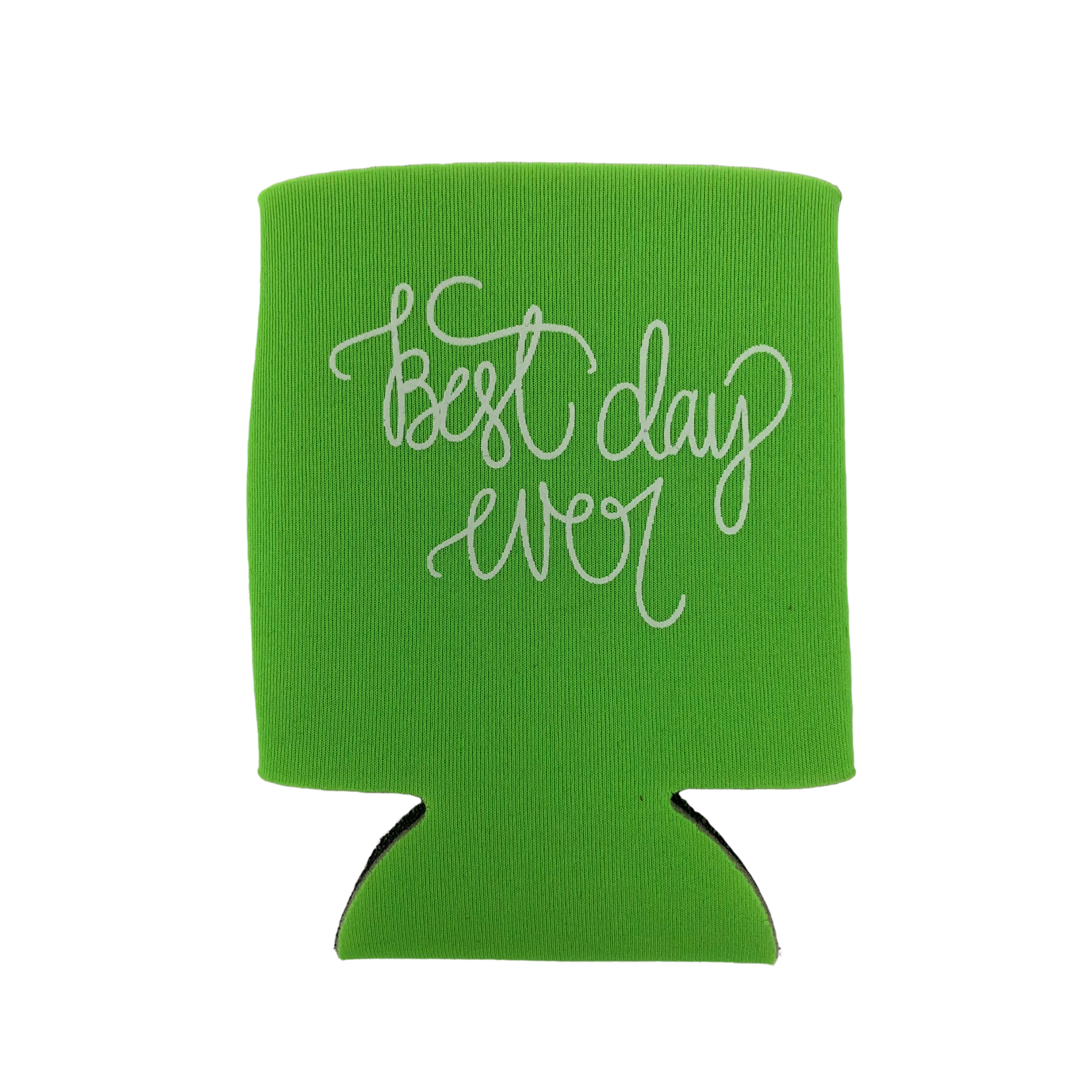 Lizzylovesletters Koozie Green Best Day Ever