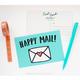 Row House 14 Happy Mail Postcard Set