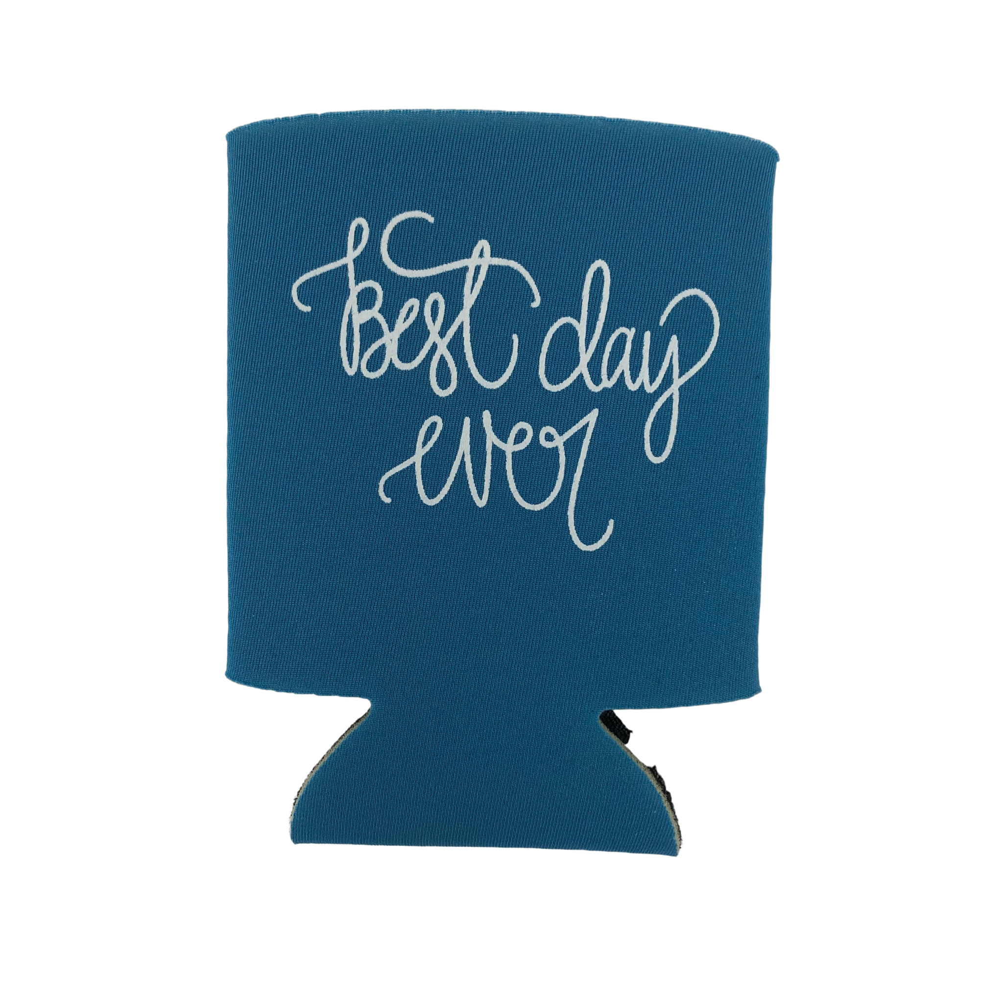 Lizzylovesletters Koozie Blue Best Day Ever