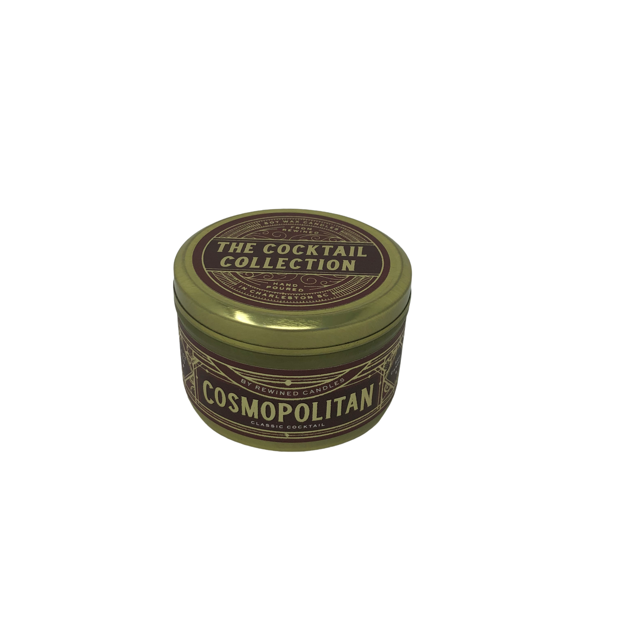 Rewined Cosmopolitan Travel Tin Candle
