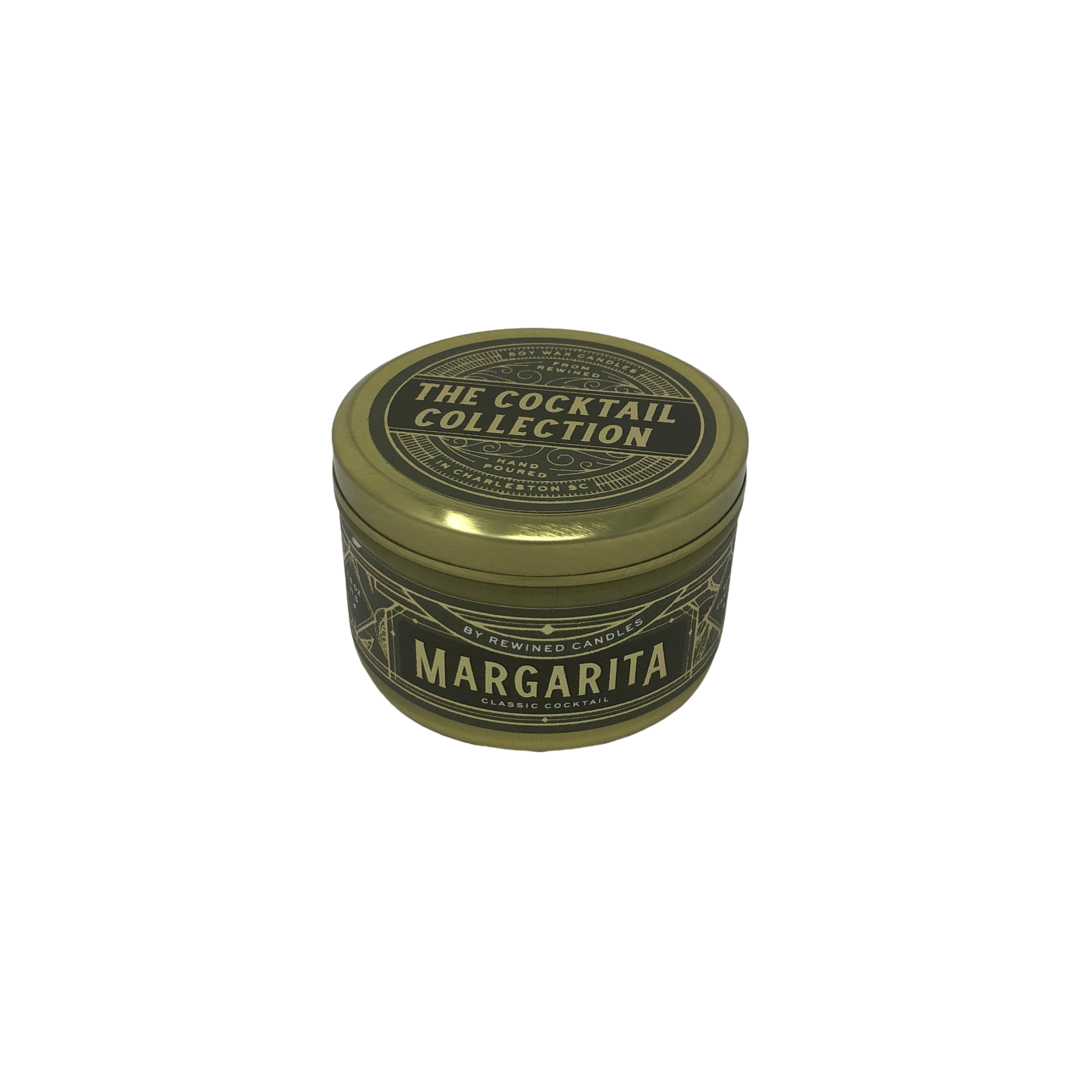 Rewined Margarita Travel Tin Candle