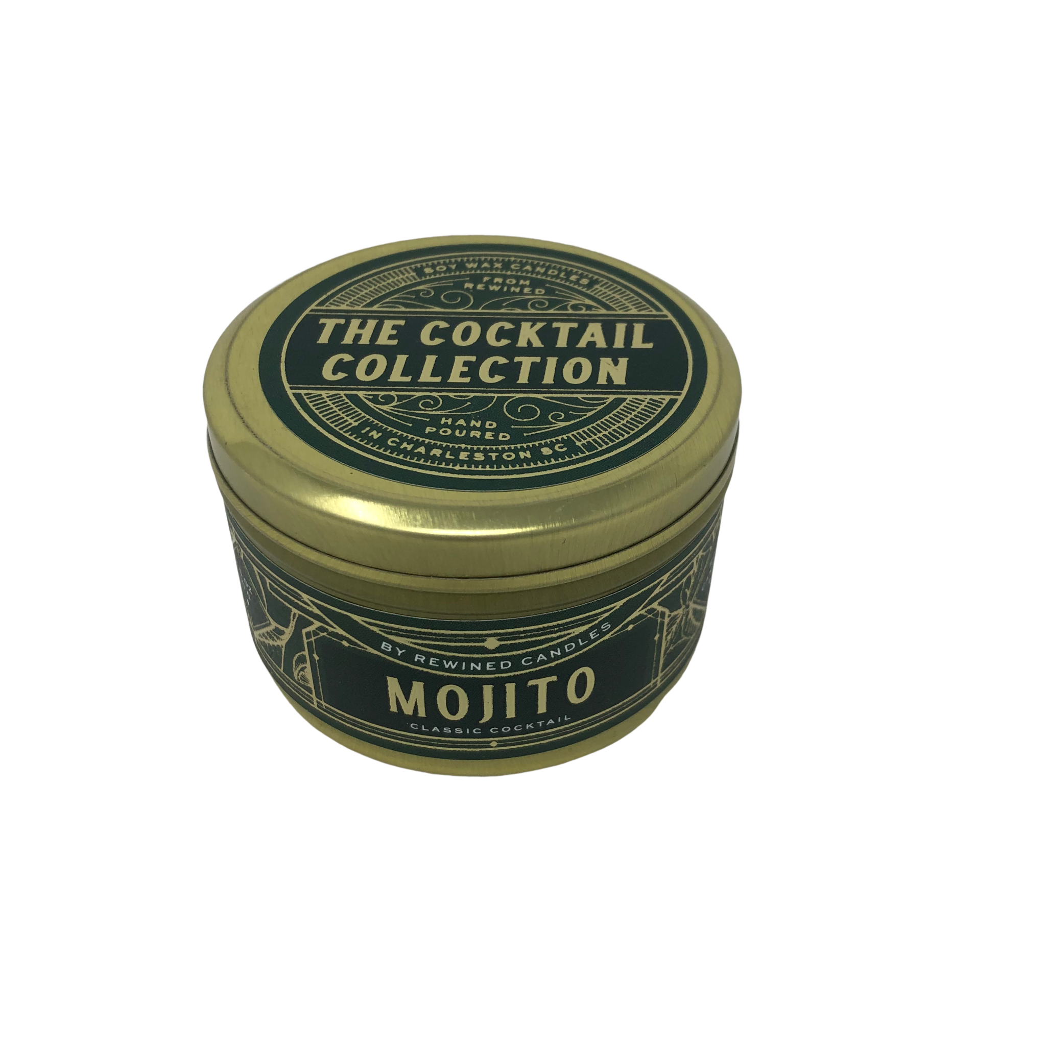Rewined Mojito Travel Tin Candle