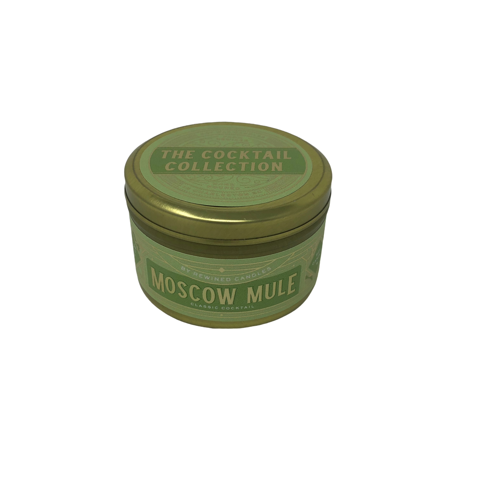 Rewined Moscow Mule Travel Tin Candle