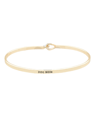 Golden Stella Bangle - Dog Mom