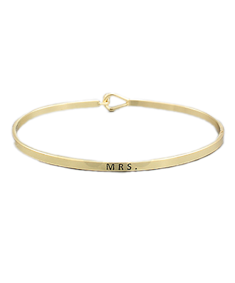 Golden Stella Bangle - Mrs.