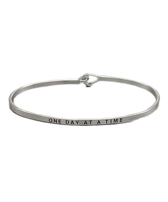 Golden Stella Bangle - One Day At A Time