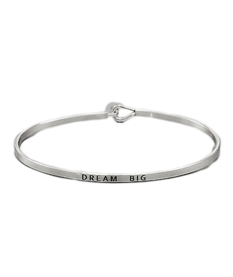 Golden Stella Bangle Silver Dream Big