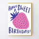 Egg Press Berry Sweet Birthday Card