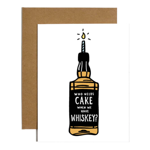 Brittany Paige Cake Whiskey Card