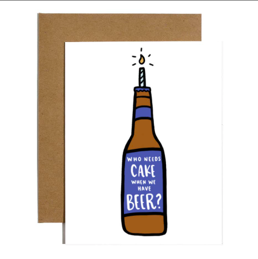 Brittany Paige Cake Beer Card