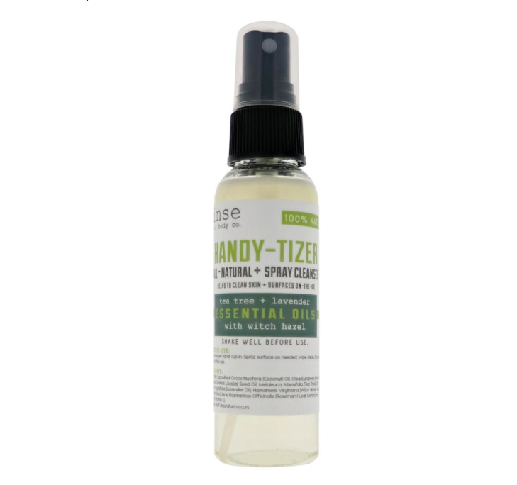 Rinse Bath & Body Handy-Tizer - Tea Tree and Lavender