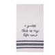 Ever Ellis Embroidery Tea Towel - My Life