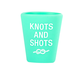 About Face Designs Knots Silicone Shot Glass