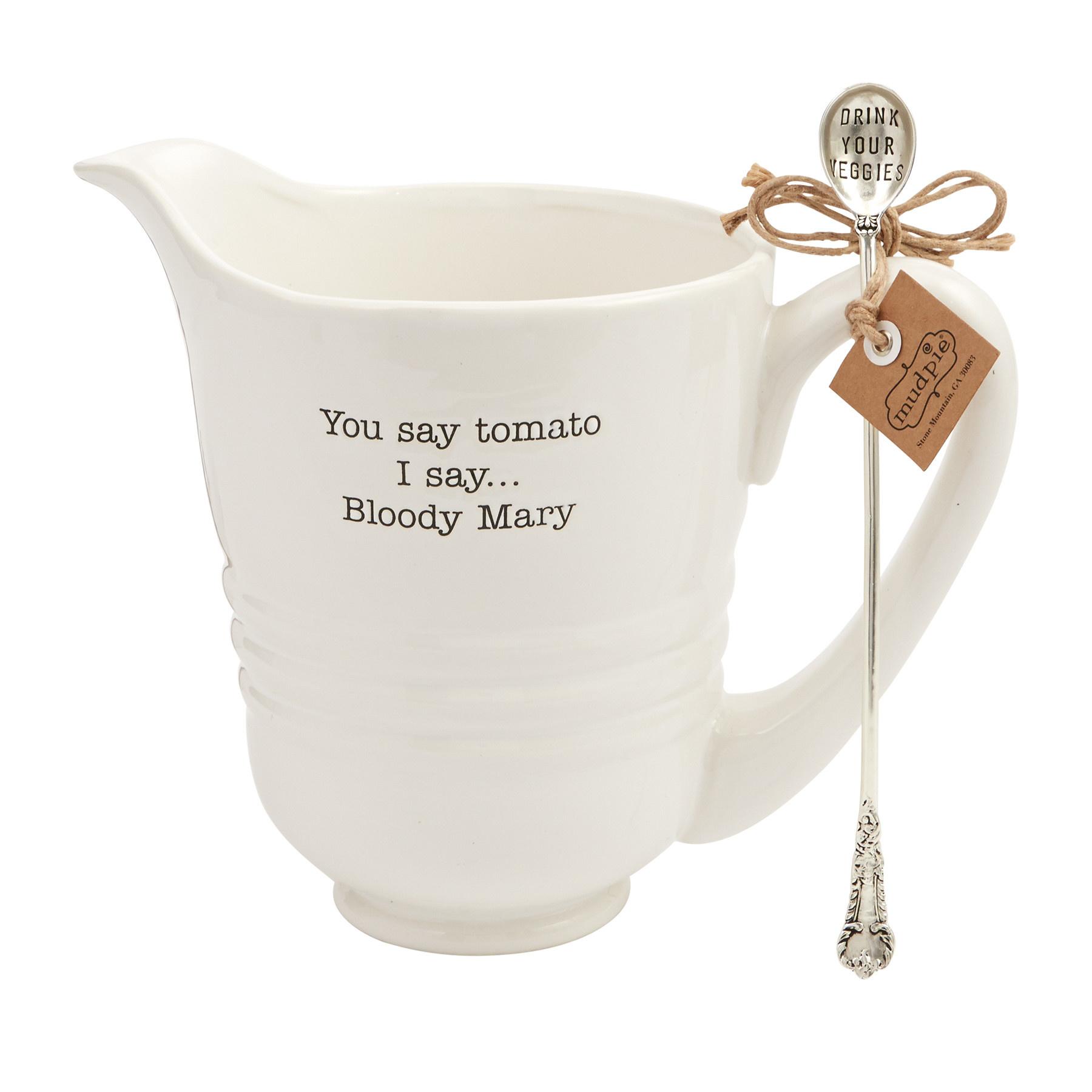 Mud Pie BLOODY MARY PITCHER SET