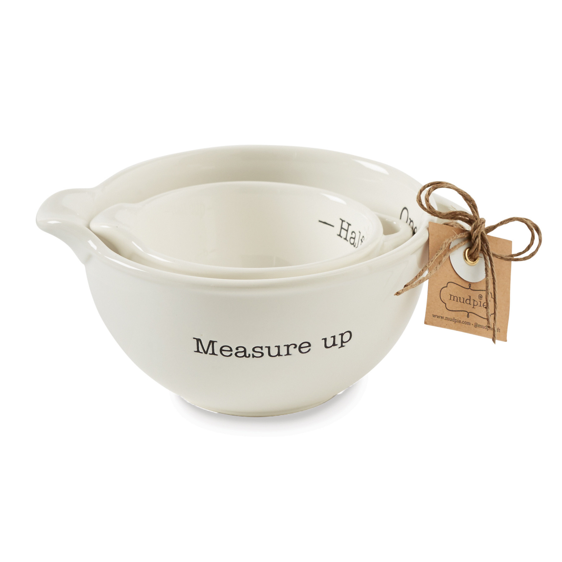 Mud Pie MEASURING CUP SET