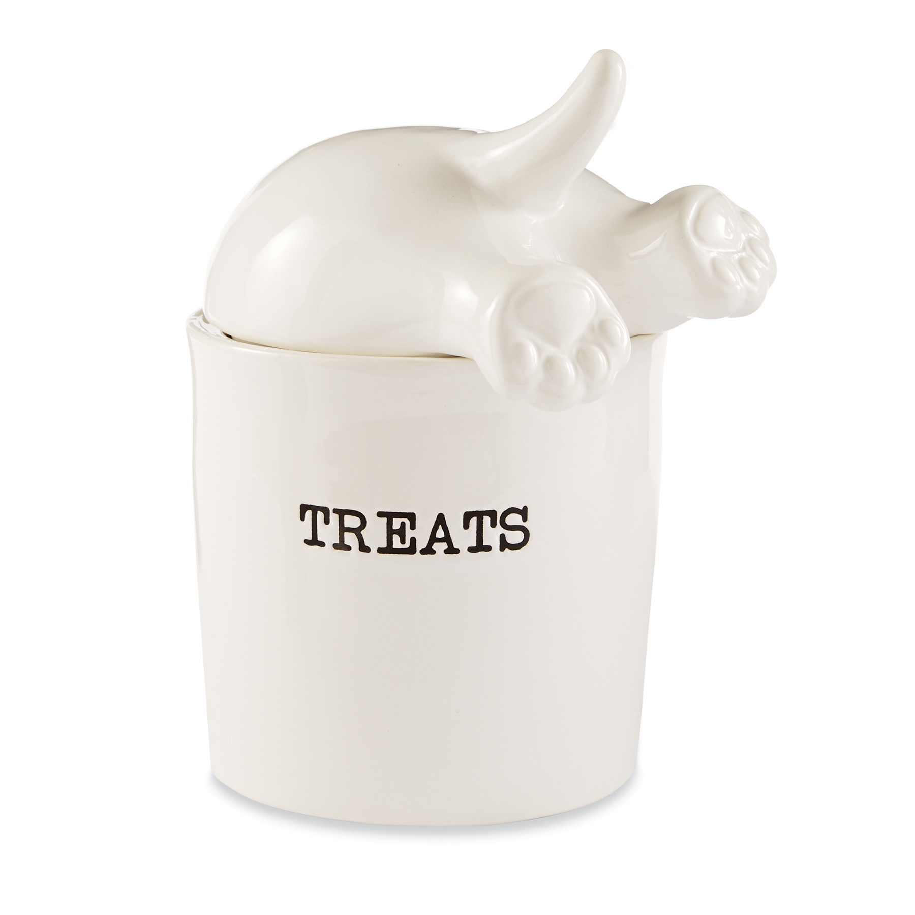 Mud Pie DOG TAIL TREAT CANISTER