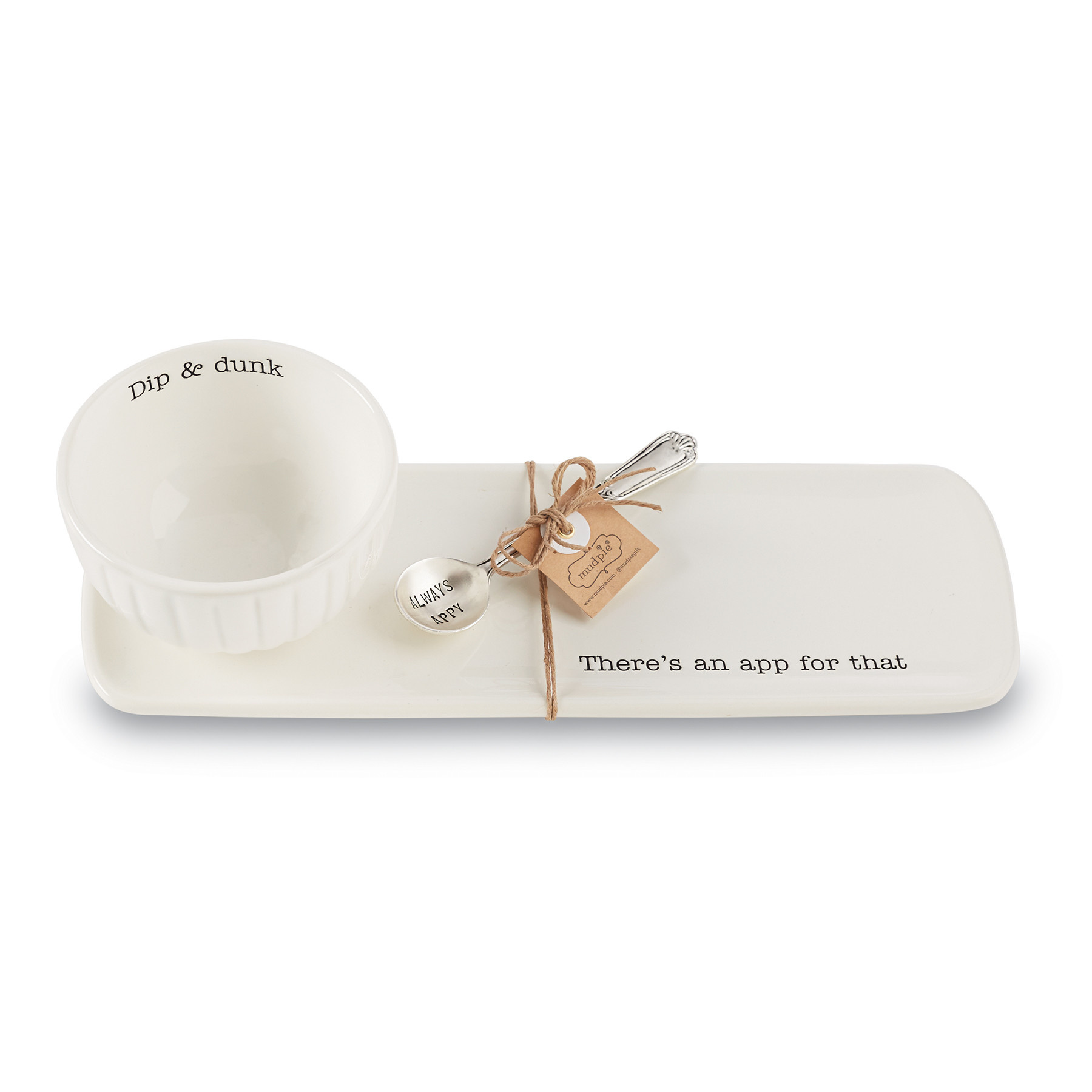 Mud Pie APPETIZER SET