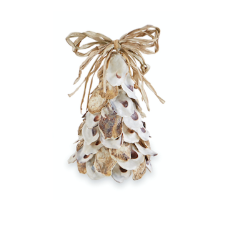 Mud Pie SMALL OYSTER SHELL TREE