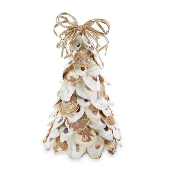 Mud Pie LARGE OYSTER SHELL TREE