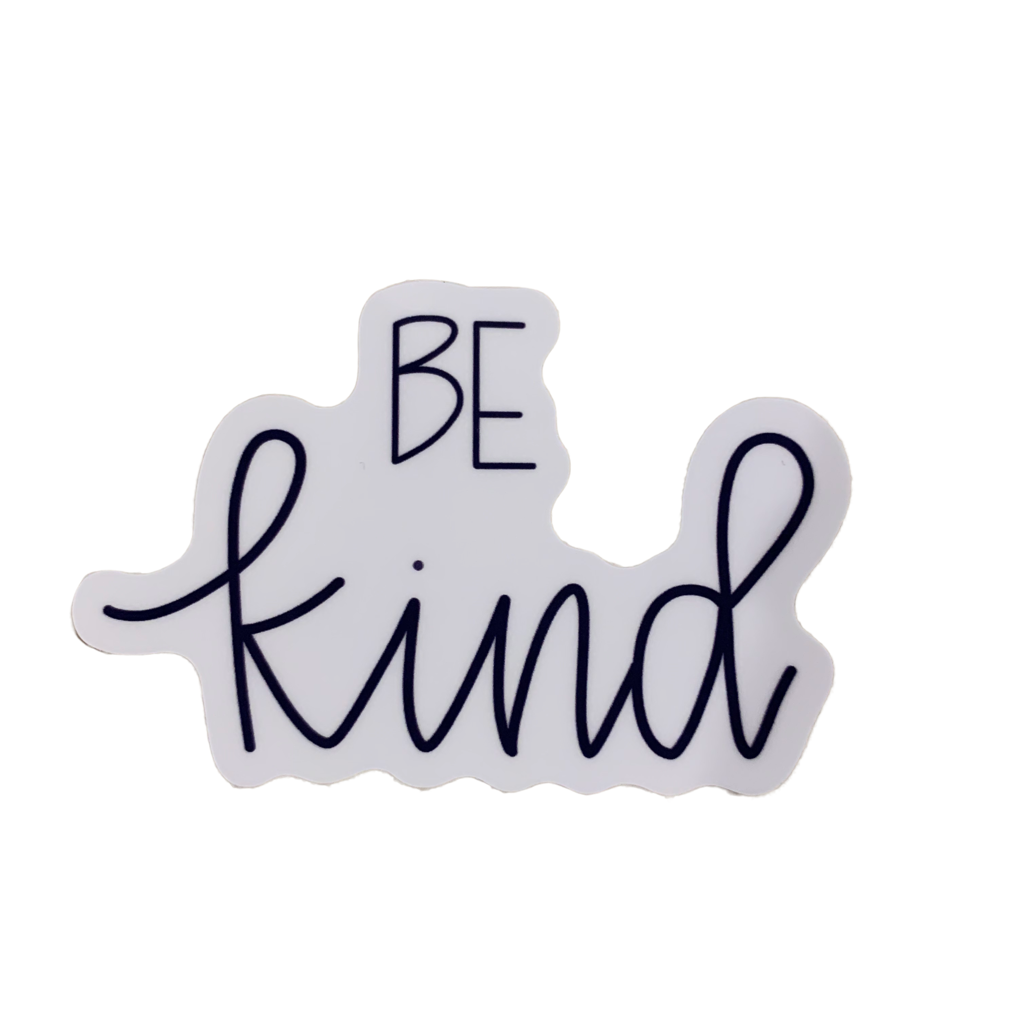 Lizzylovesletters Be Kind Sticker