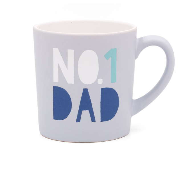 About Face Designs #1 Dad Matte Mug