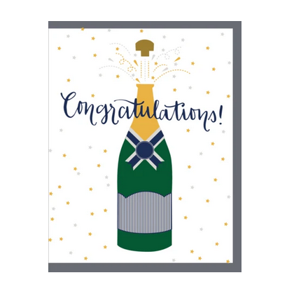 """Ann Page """"Congratulations Champagne"""" Greeting Card"""