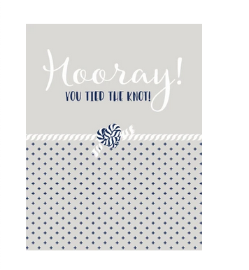 Ann Page Hooray! You Tied the Knot Card