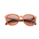 Two's Company Mixed Pattern Sunglasses - Faux Wood