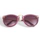 Two's Company Glitter Frame Sunglasses - Purple