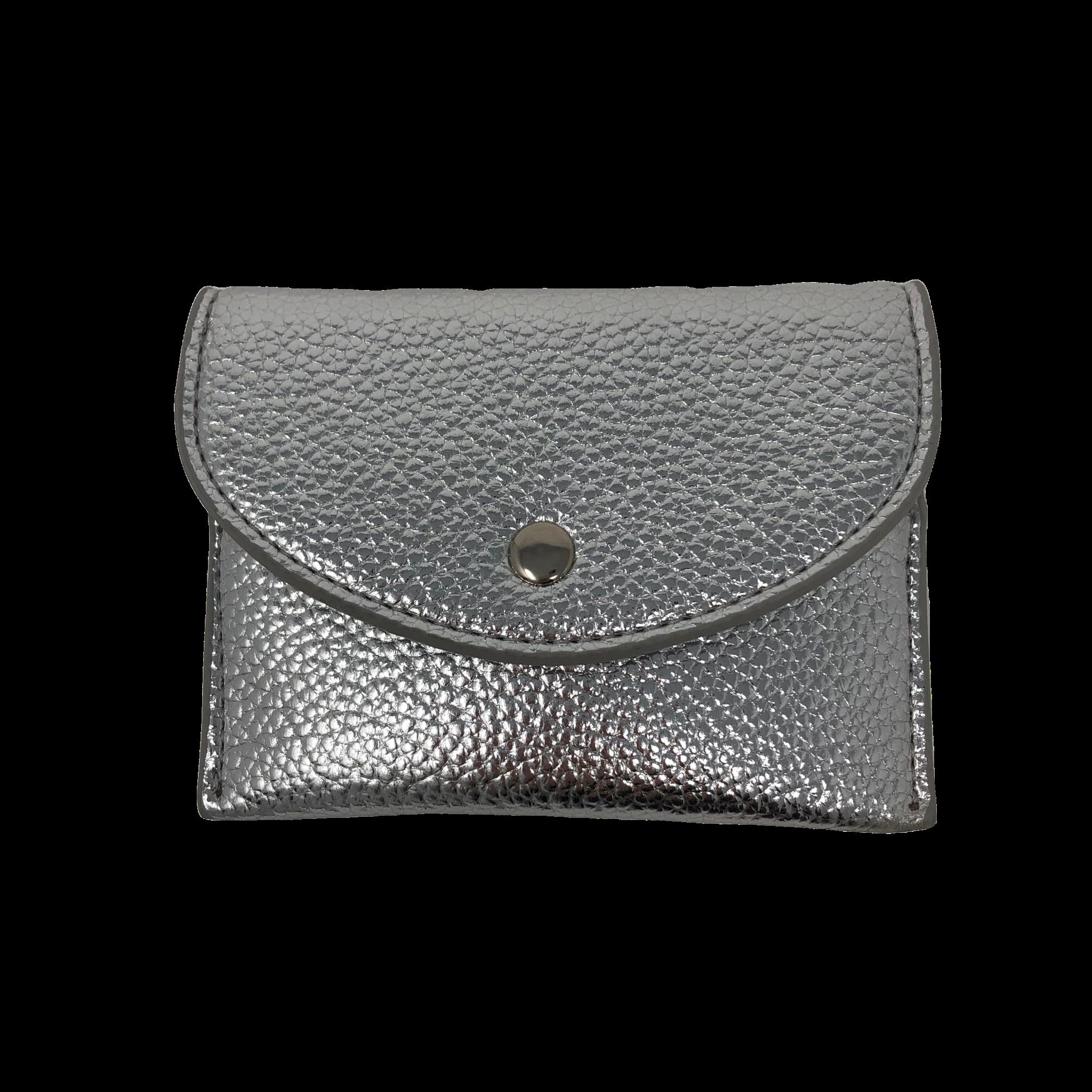 Golden Stella Mini Wallet Silver
