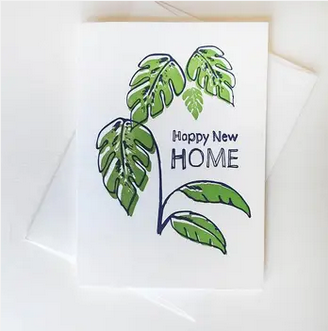 Steel Petal Press Happy New Home Card