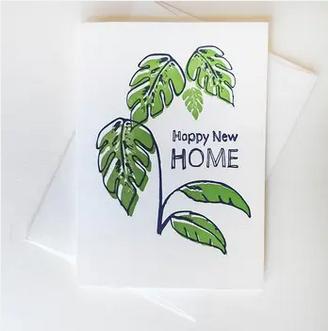 Steel Petal Press Happy New Home Card