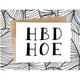 Honest AF Cards HBD Hoe Card