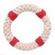 "Jax & Bones Lifesaver 7"" Rope Dog Toy"