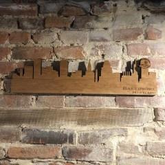 LeRoy Woodworks Baltimore Skyline Sign - Large