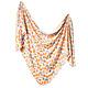 Copper Pearl Knit Swaddle Blanket Citrus