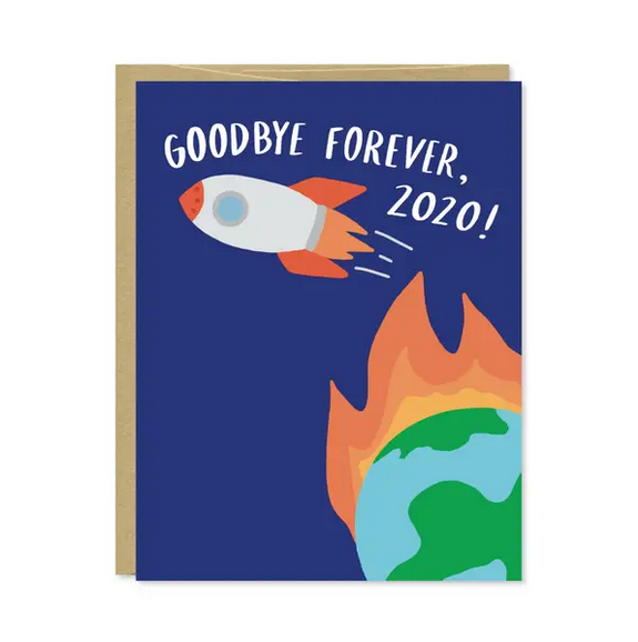 Row House 14 Goodbye Forever Card