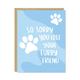 Row House 14 Furry Friend Card