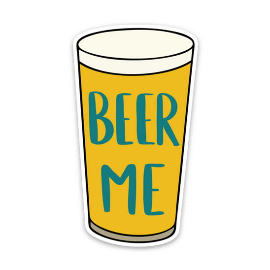 Row House 14 Beer Me Sticker