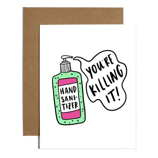 Brittany Paige Killing It Hand Sanitizer Card