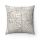 Daisy Mae Designs Map Pillow Fells Point