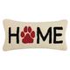 """Peking Handicraft Home Paw Hook Pillow 9"""" x 18"""""""