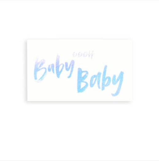 417 Press Baby Baby Mini Card