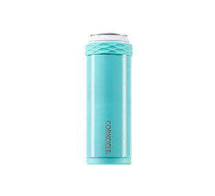 Corkcicle. Slim Arctican 12oz Gloss Turquoise